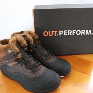 Merrell Brown Aurora 6 Ice+ Waterproof Size 11